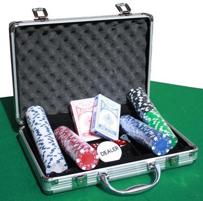 Imagen de Maletin poker 200/300/500 fichas
