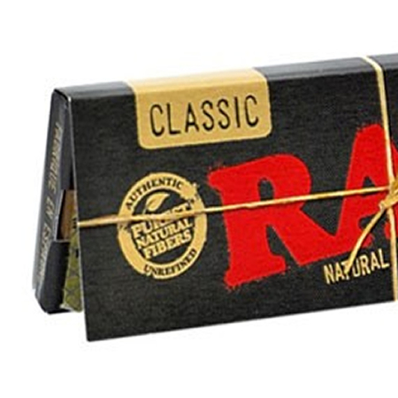 Imagen para la categoría Papel de fumar RAW Black