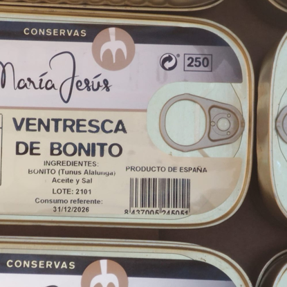 Imagen de VENTRESCA DE BONITO de Maria Jesus